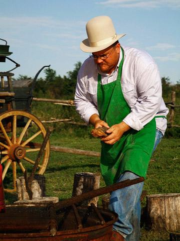 Modern cowboy entrepreneur