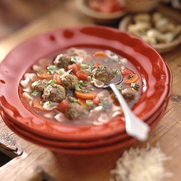 Picky Eaters' Meatball Soup