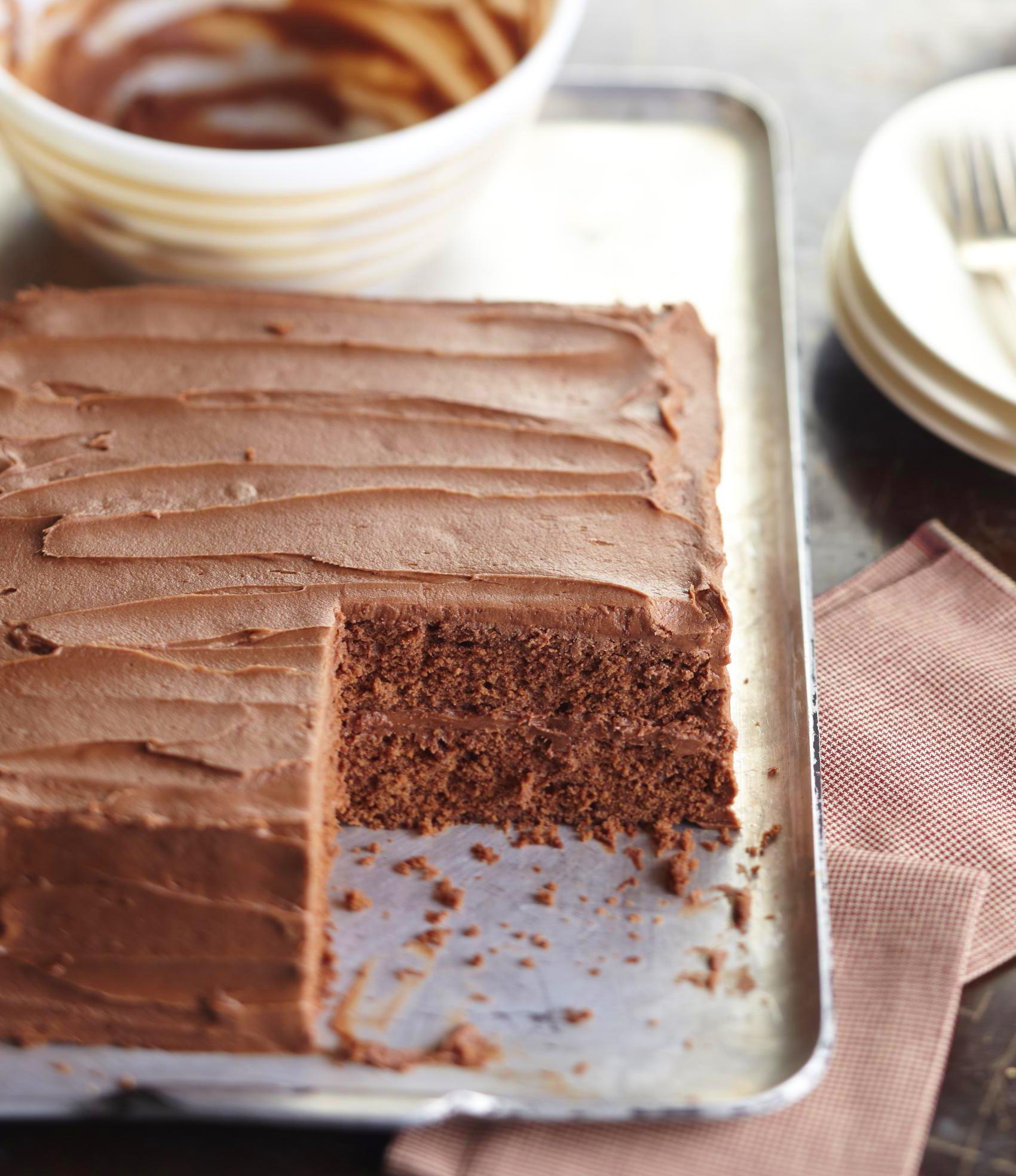 Iowa: Best-Ever Chocolate Cake