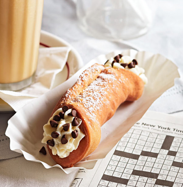 Cream-Filled Cannoli