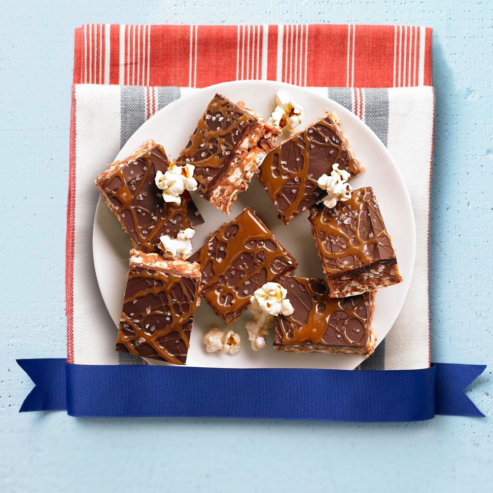 Recipe contest winner: Caramel and Chocolate Kettle-Corn Crispie Bars