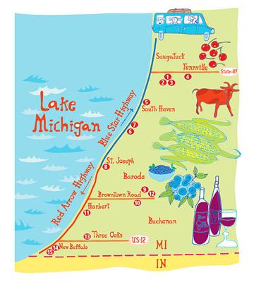 Southwest Michigan: Lakeside bounty