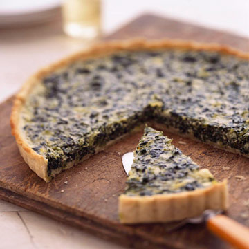 Goat Cheese and Spinach Tart