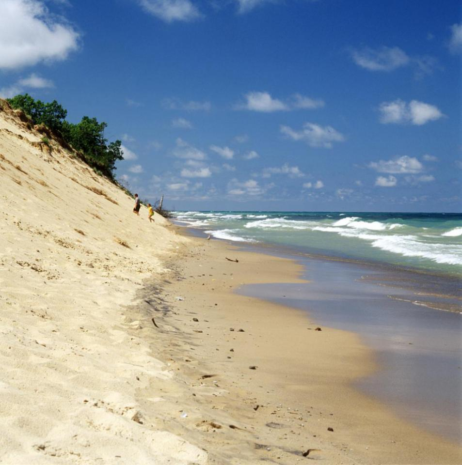 Indiana Dunes: 54 miles southeast of Chicago