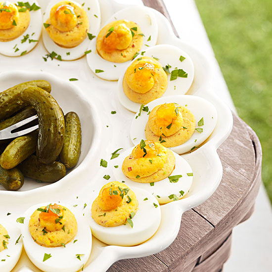 Devilishly Good Deviled Eggs