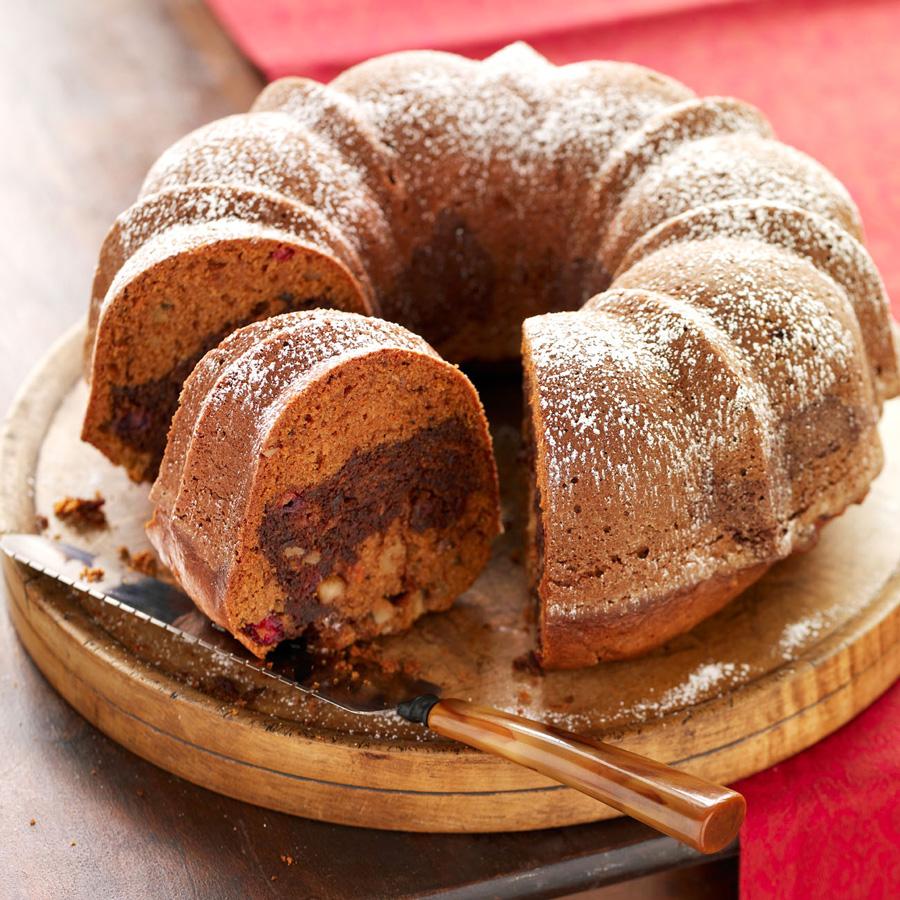 Sweet Potato-Cranberry Cake