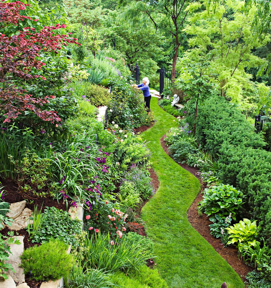 Garden Tour: Tame a Steep Backyard | Midwest Living