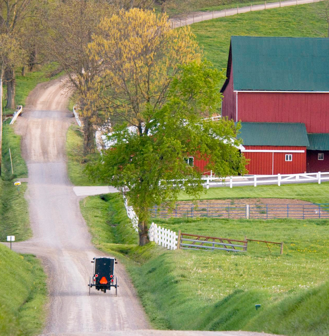 Amish Country, Indiana: 110 miles east of Chicago