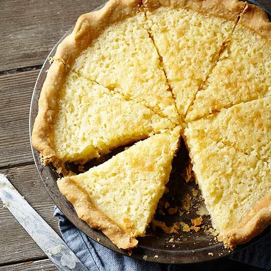 Old-Fashioned Buttermilk-Coconut Pie