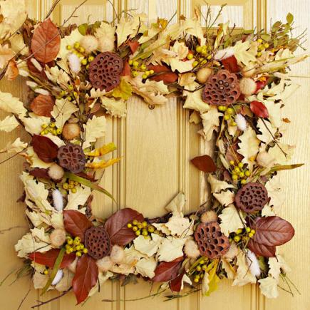 Nature's artistry wreath