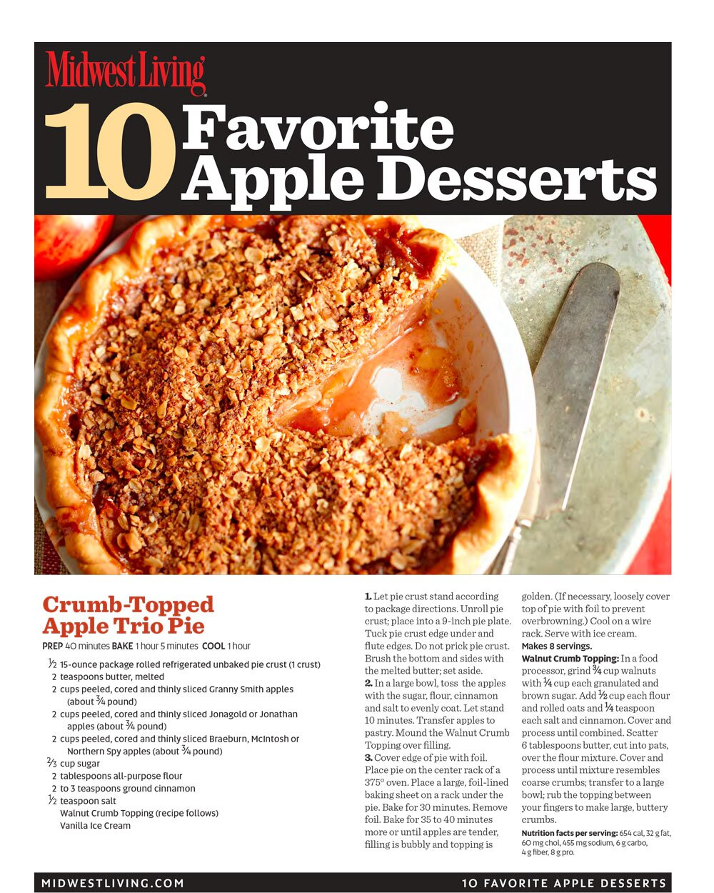 30 Fresh Fall Apple Recipes Midwest Living