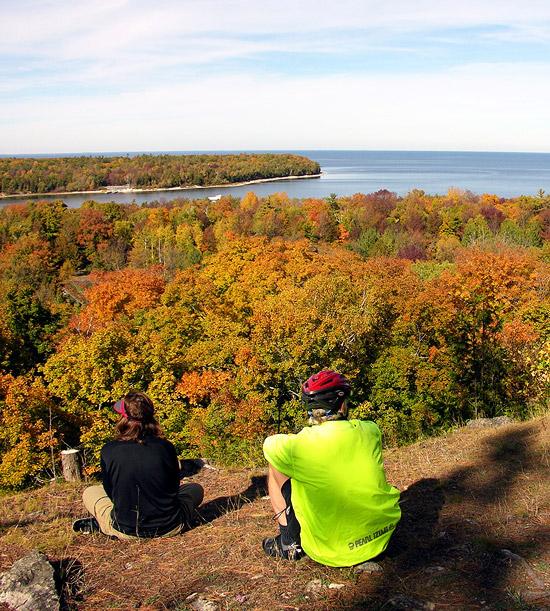 Wisconsin: Peninsula State Park