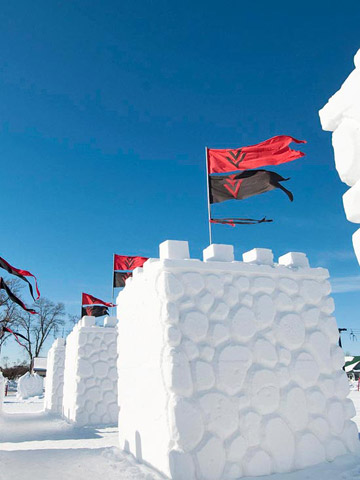 Saint Paul Winter Carnival: Winter showdown