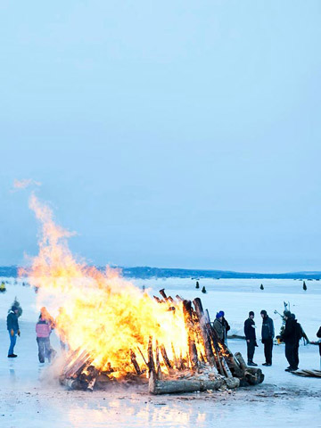 Book Across the Bay: Fire and ice