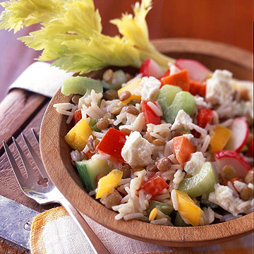 Garden-and-Grain Salad