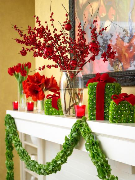 Vase and garland ideas
