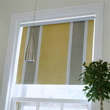 Decorate a window shade