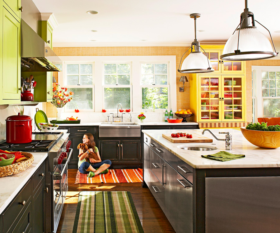 Cabinetry colors that work together