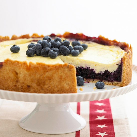 Blueberry Sour Cream Dessert