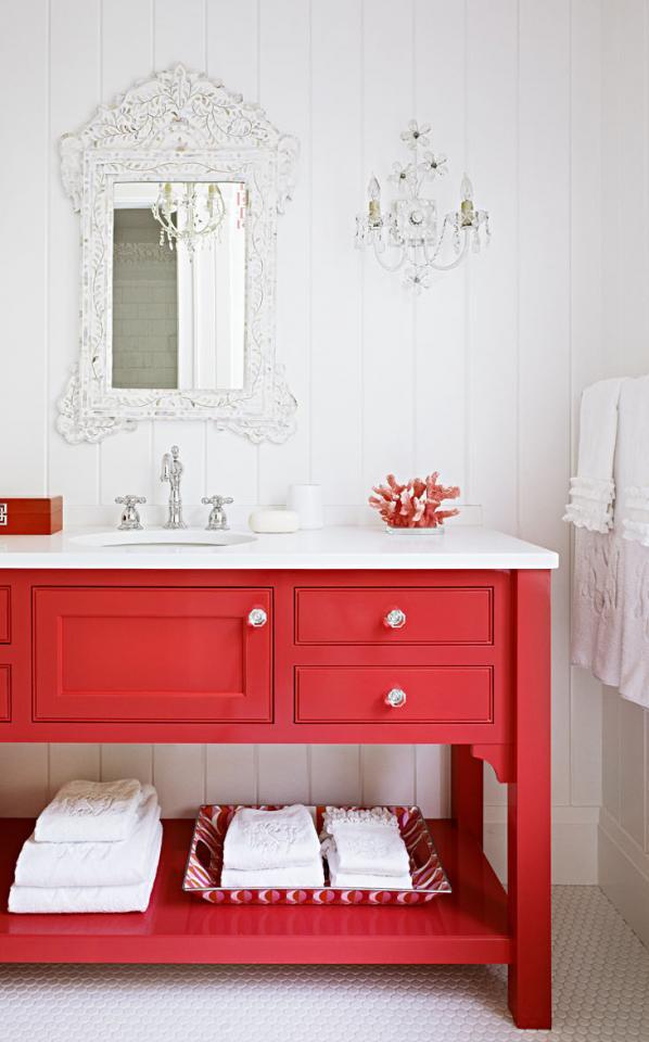Painted vanity