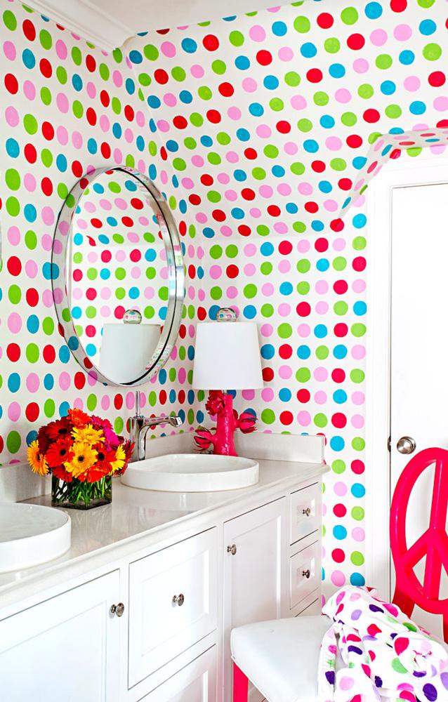 Spot on bathroom
