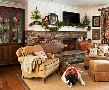 Cozy family room