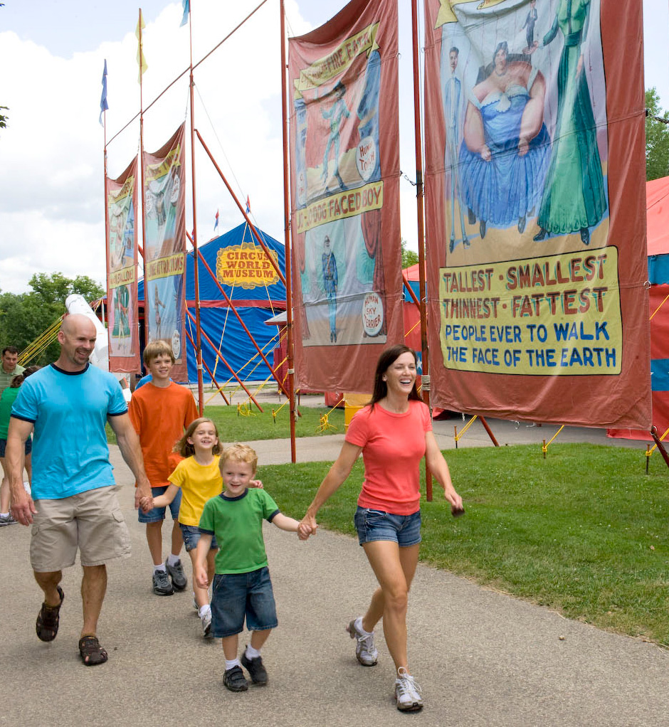 Things to do in the Wisconsin Dells-Circus World Museum
