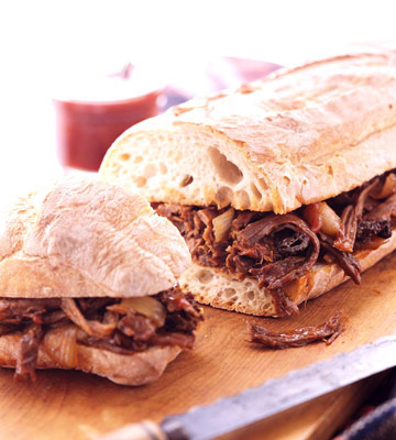 Missouri: Smoky Brisket Sandwiches