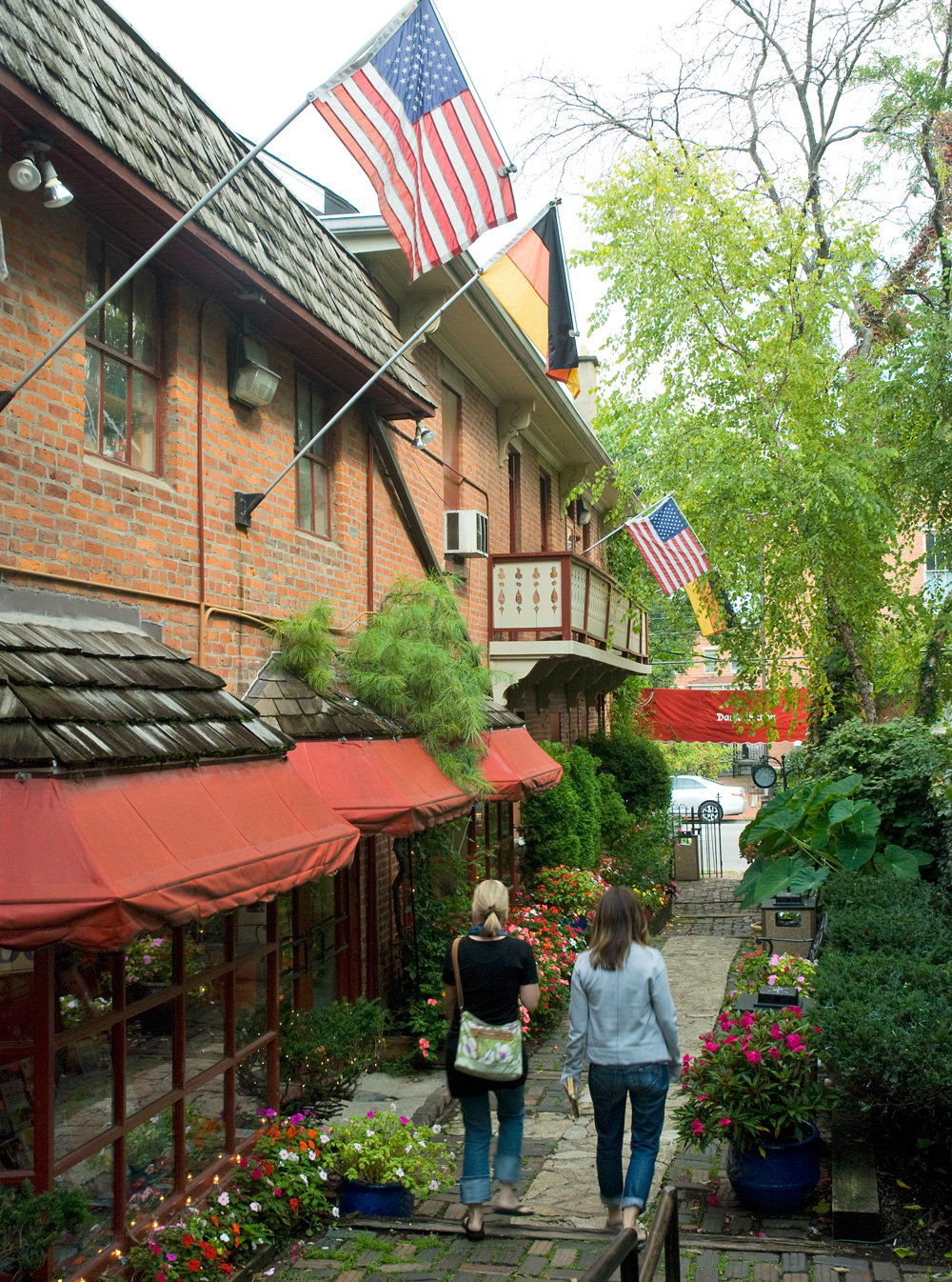 German Village: Picturesque enclave