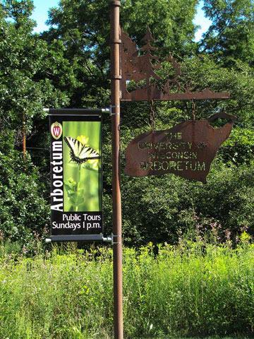 The capitol and campus vs the arboretum