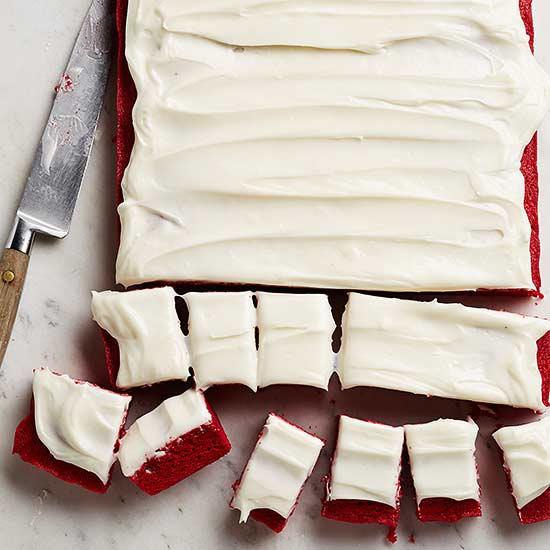 Red-Hot Velvet Brownies