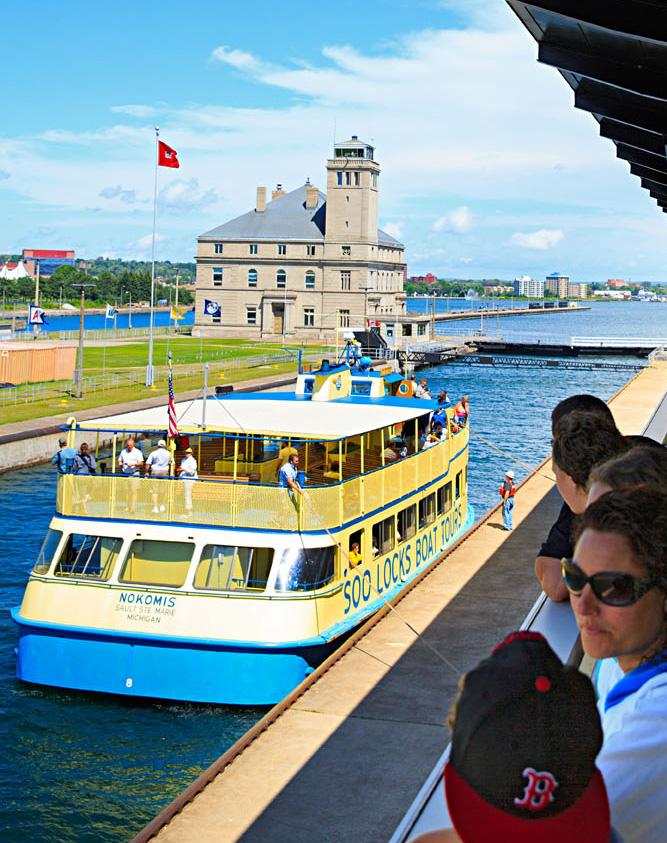 Soo Locks Boat Tours