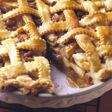 Praline-Taffy Apple Pie