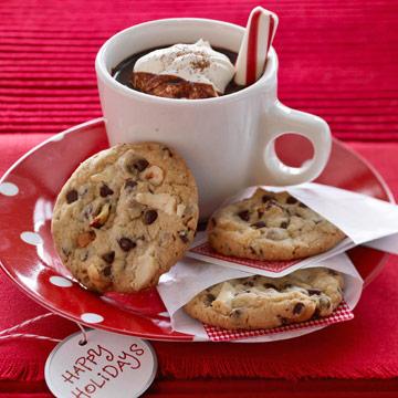 Hazelnut-Chocolate Chunk Cookies
