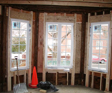 New windows in the front