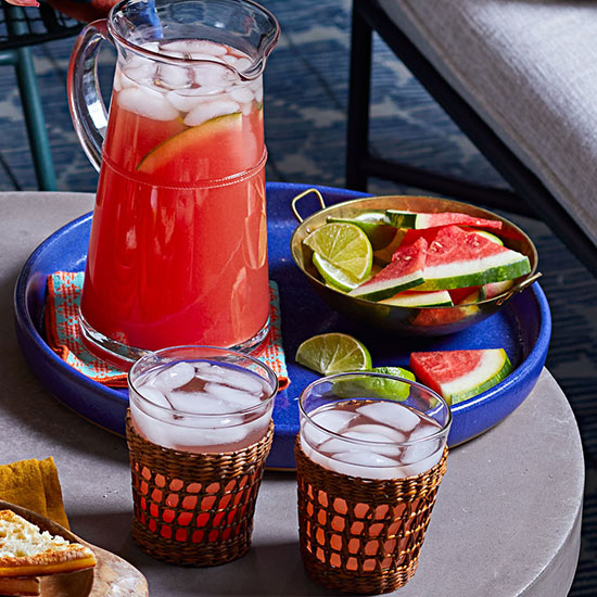 Watermelon-Lime Sangria