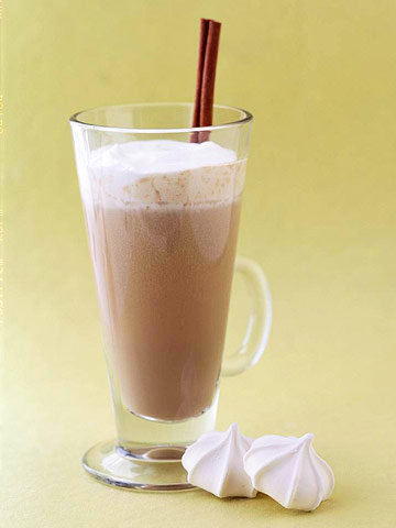 Hot Coffee Latte Eggnog