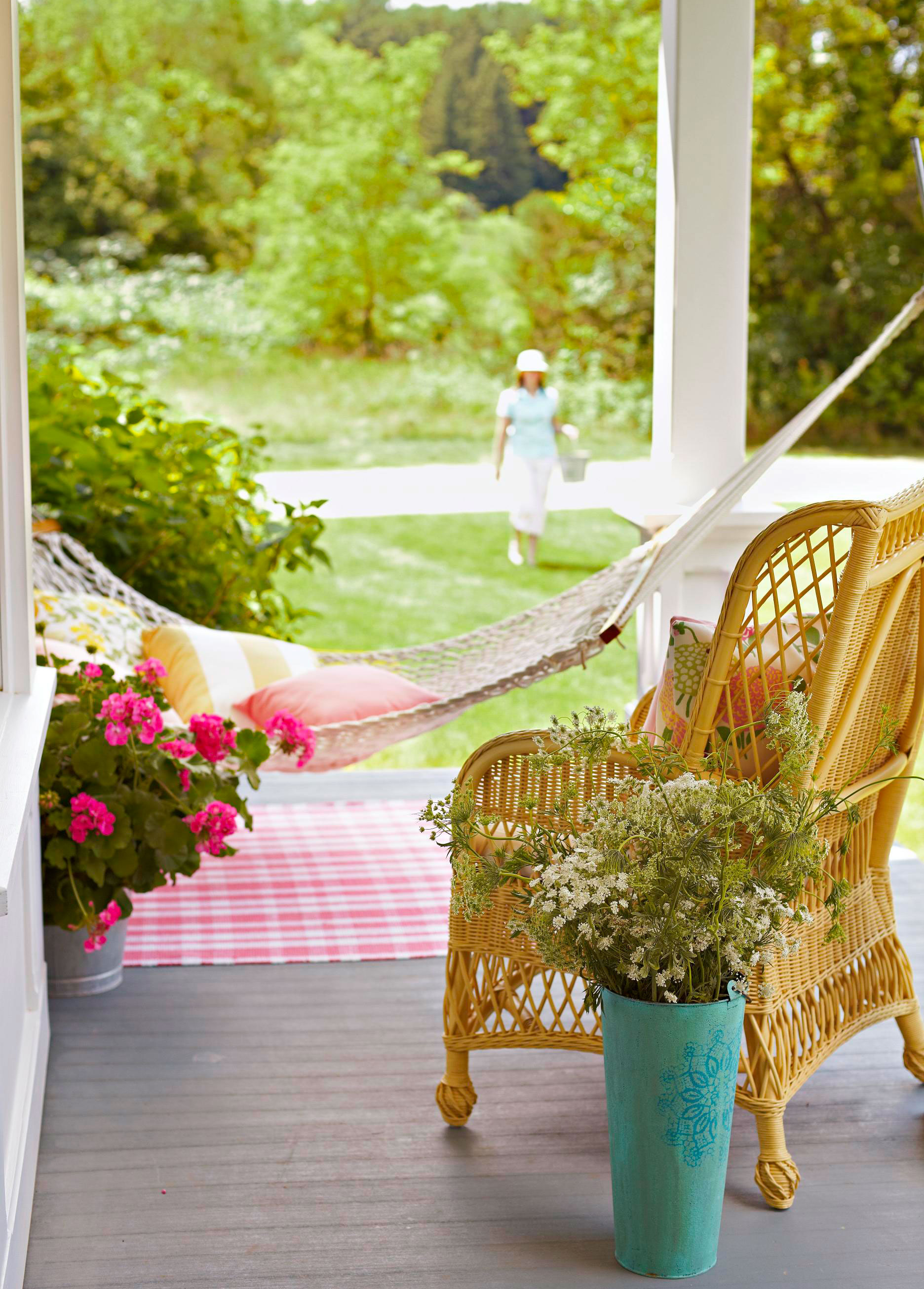 Relax in a quiet corner