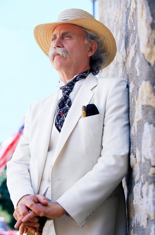 Actor Richard Garey: Mark Twain Himself