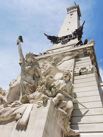 Indianapolis: Soldiers and Sailors Monument