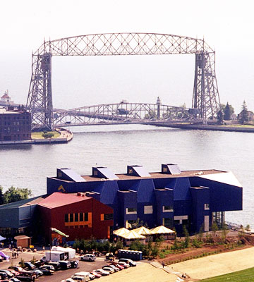 Aerial Lift Bridge and more