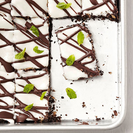 Dark Chocolate Mint Bars