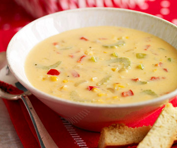 Veggie-Cheese Chowder and more