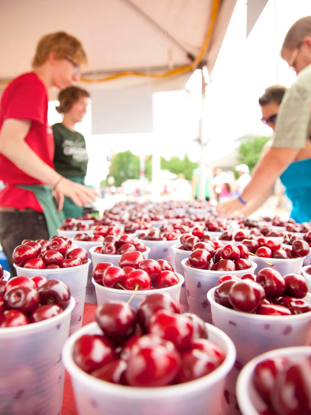 Things to Do in the Traverse area--National Cherry Festival