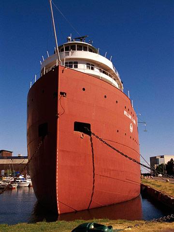 Tour a freighter