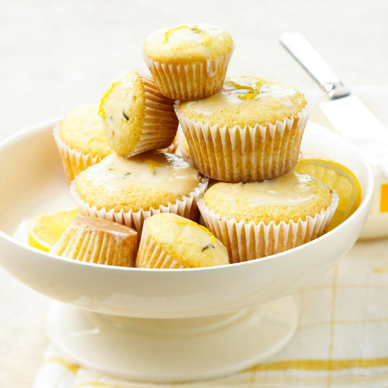 Fresh Rosemary & Lemon Cupcakes