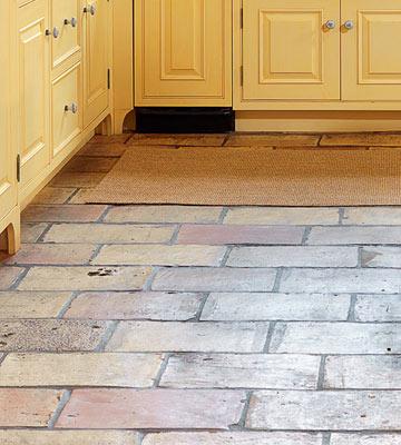 Step on textured tile