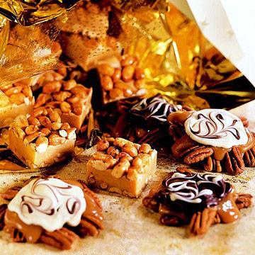 Nut candies