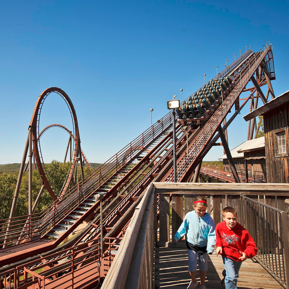 Branson, Missouri: Silver Dollar City