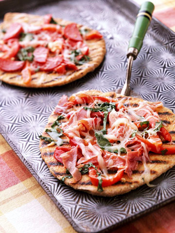 Hot-Off-the-Grill Pizza